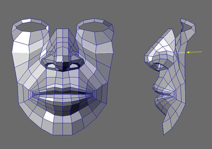 Contour/Edge modeling