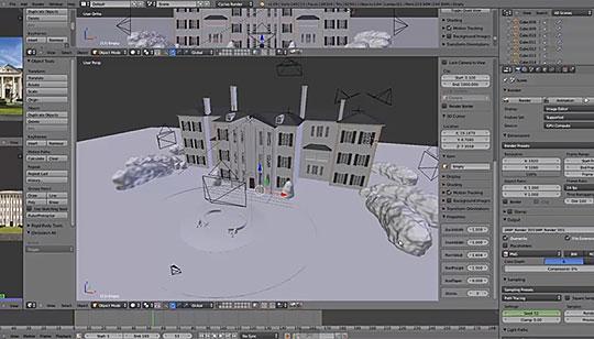 Procedural modeling