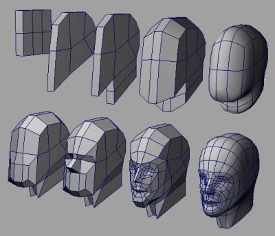 Subdivision/Box modeling